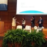 Sarah Calabrese premiata dalla professoressa Egle Muti