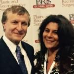 Rod Rohrich, editore di PRS Global Open, con Stefania de Fazio, consigliere SICPRE e responsabile, con Giovanni Papa, del Progetto SICPRE Giovani PSG