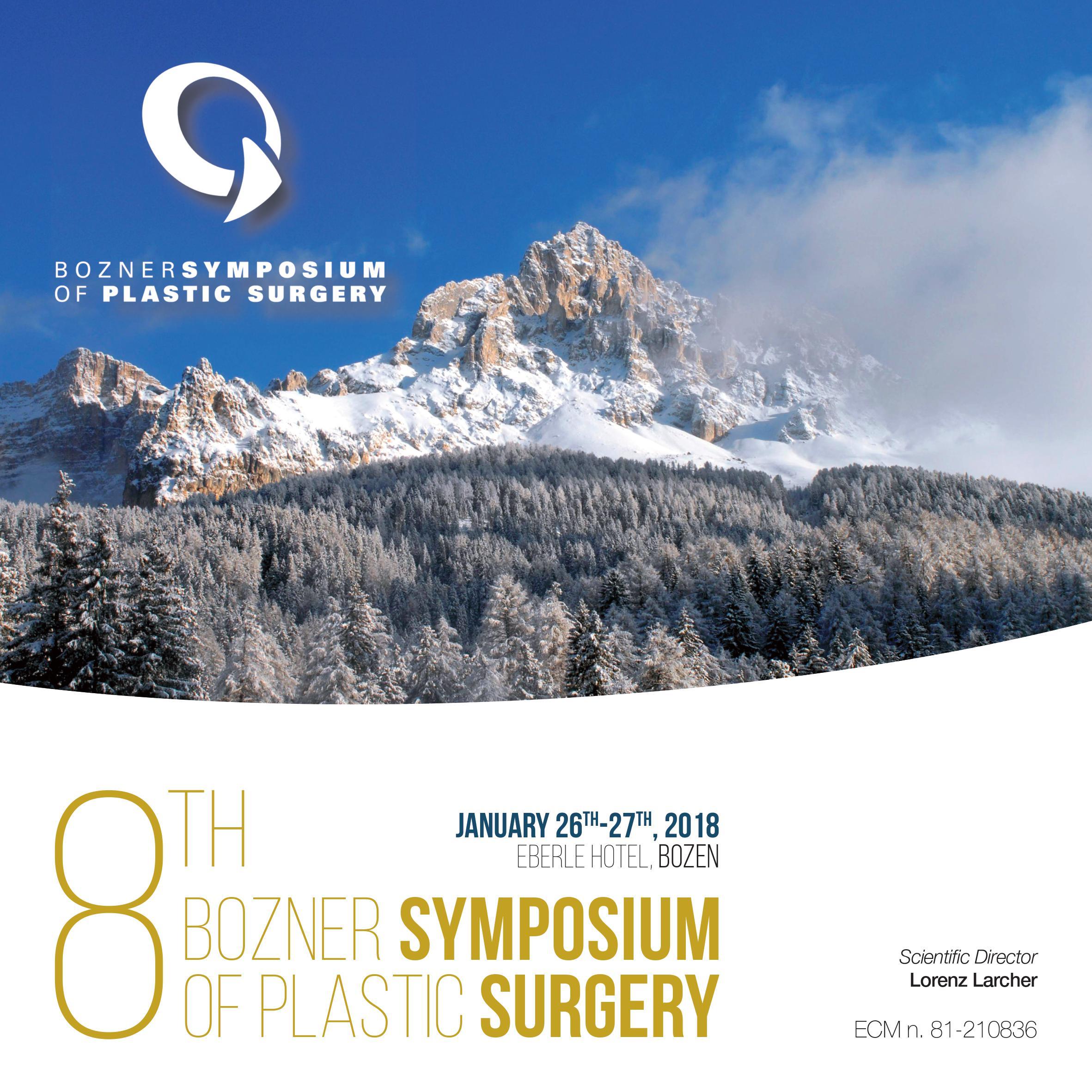 Bozner Symposium copertina