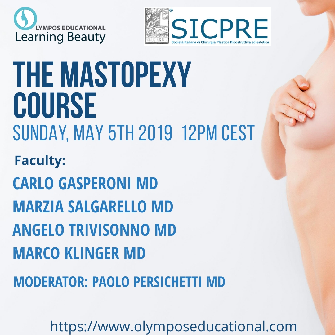The Mastopexy Course SICPRE